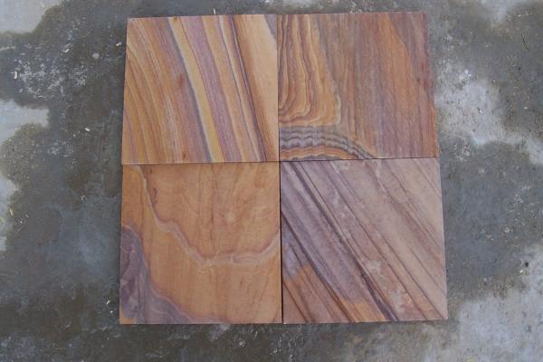 Kamienne płyty-Rainbow
