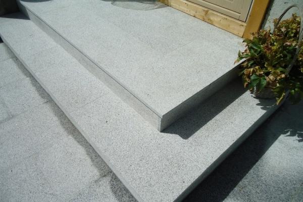 Kamienne płyty- Szary Granit G603